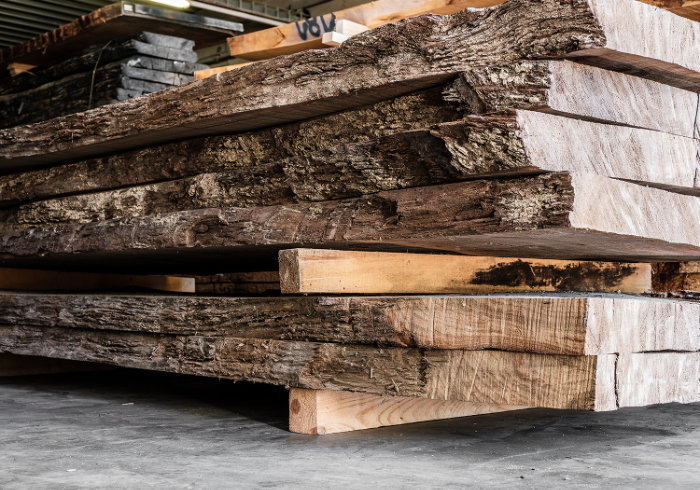 Lumberyard Holzlagerung